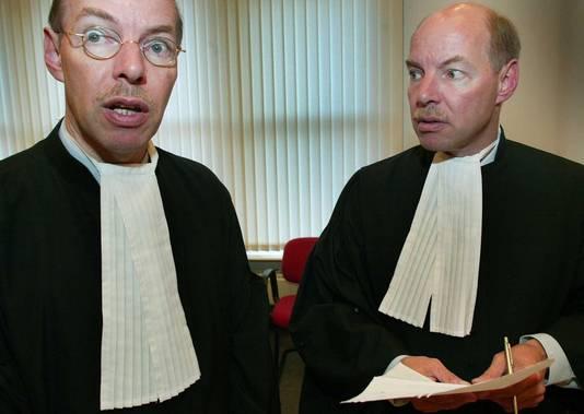 Advocaten Hans (l) en Willem Anker. © FOTO ANP