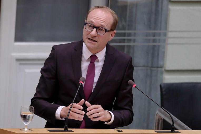 De nieuwe Vlaamse minister van Onderwijs Ben Weyts (N-VA).