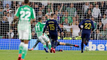 Onverklaarbaar: erg slap Real Madrid week na zege in Clásico onderuit bij Betis