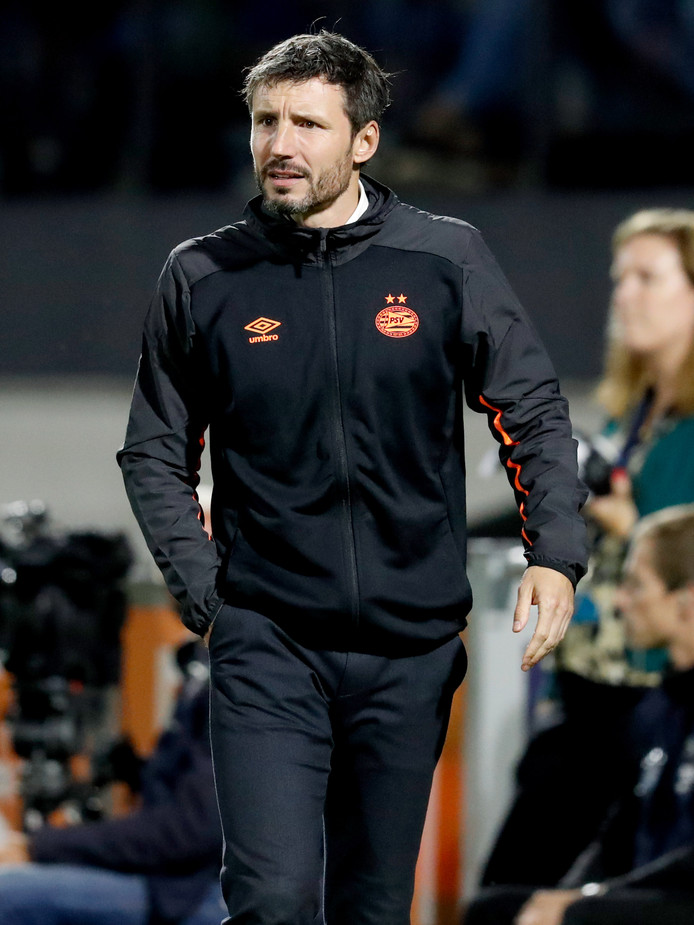 Mark van Bommel tijdens RKC-PSV, begin deze maand.