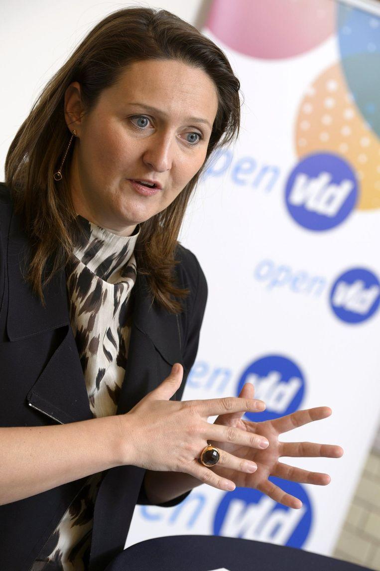 Open Vld-voorzitster Gwendolyn Rutten.