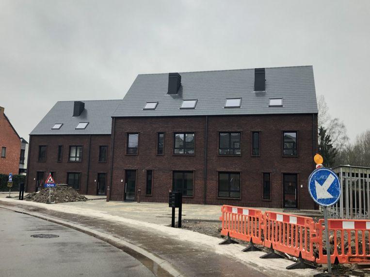 De sociale appartementen in de Heidestraat zijn klaar.