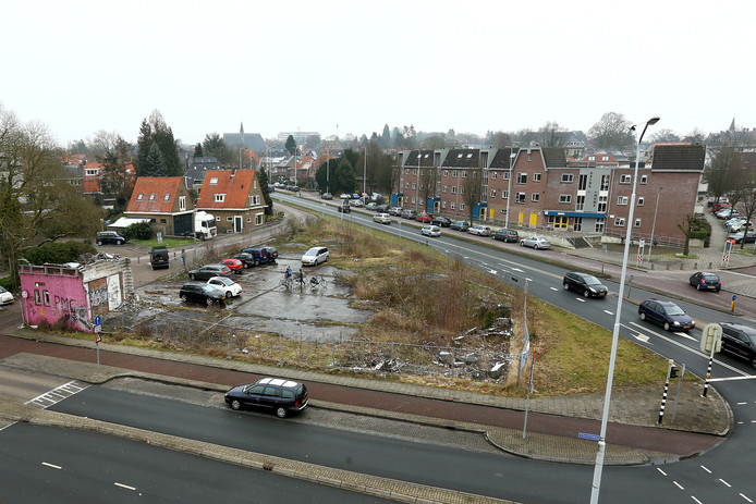 Het Kirpestein terrein in Wageningen.