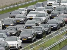 Botsing zorgt voor file op A12 richting Den Haag