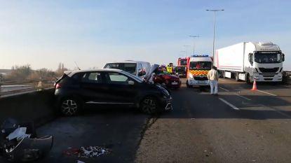 Vier zwaargewonden bij kettingbotsing met 18 voertuigen in Frankrijk