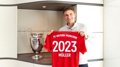 Football Talk. Thomas Müller verlengt tot 2023 bij Bayern München