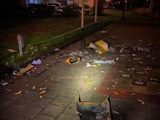 Vuurwerk veroorzaakt ravage op schoolplein in Papendrecht
