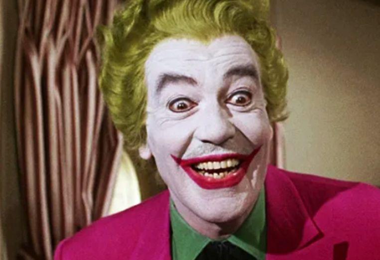 Cesar Romero als de Joker.