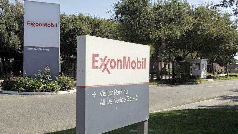Het hoofdkwartier van ExxonMobil in Californië