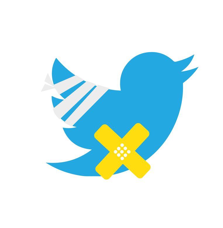 Woensdag werden de accounts van vele bekende twitteraars gehackt om zo geld van hun volgers af te troggelen. Beeld Fadi Nadrous