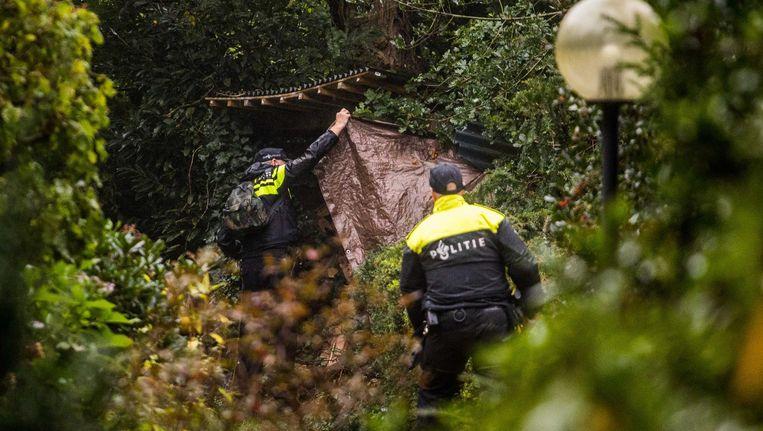 Defensie zoekt met de politie mee naar de vermiste Anne Faber. Ook veteranen helpen mee. Beeld anp