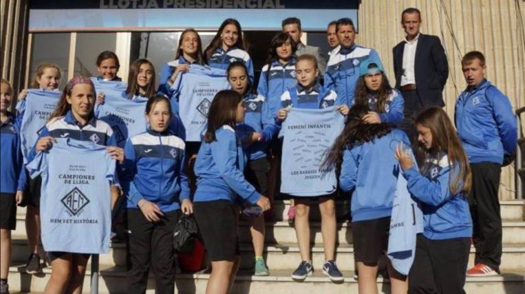 AEM Lleida werd in 2017 kampioen.