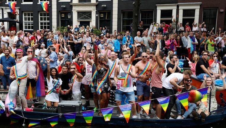Voor persoonlijke vrijheid scoort Amsterdam een 10 uit 10. Beeld anp