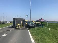 Meerdere gewonden bij 3 ongelukken in 2 uur op N59, weg afgesloten