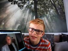 Gorcumse Olaf (10) zamelt van alle kinderen meeste geld in voor ALS-onderzoek
