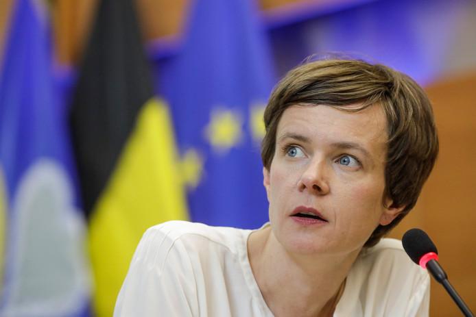 La cheffe de groupe N-VA au parlement bruxellois, Cieltje Van Achter