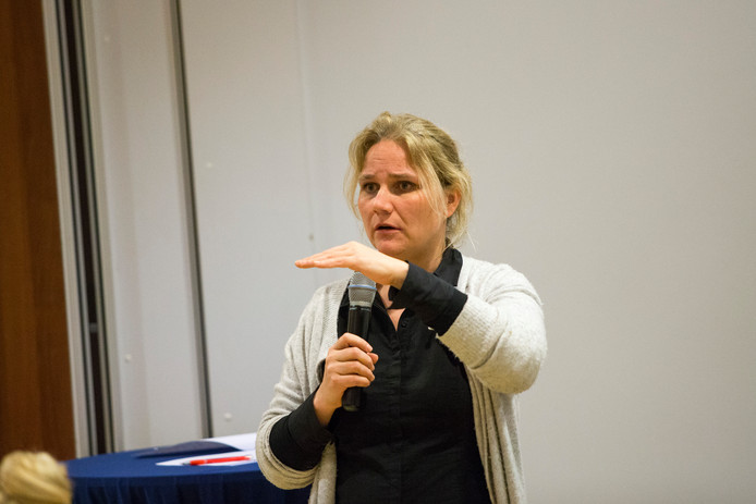 Wethouder Annelies de Jonge.