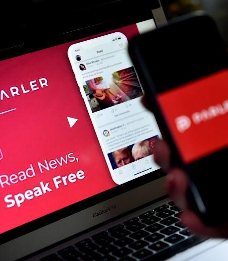 Grote techbedrijven verbreken banden: sociaal medium Parler offline