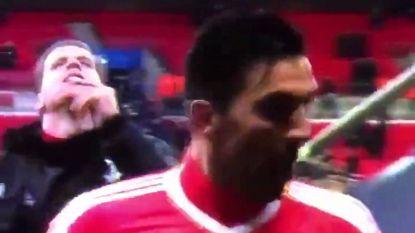 Juvé-keeper haalt zich met provocerend gebaar woede op de hals van Spurs-fans
