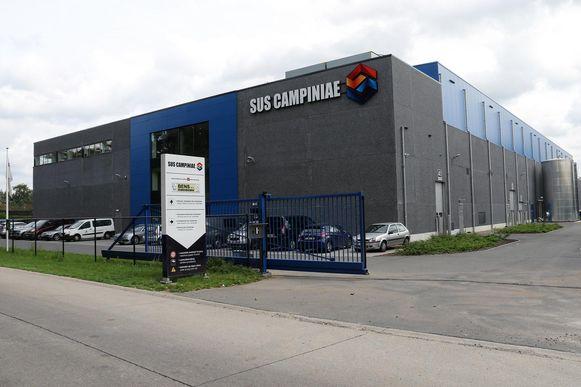 Het slachthuis Sus Campiniae in de Nijverheidsstraat.