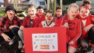 Basisschool Klimop kleurt helemaal rood