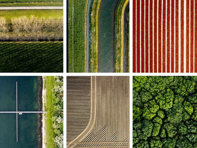 De luchtfoto's van Dennis Maliepaard