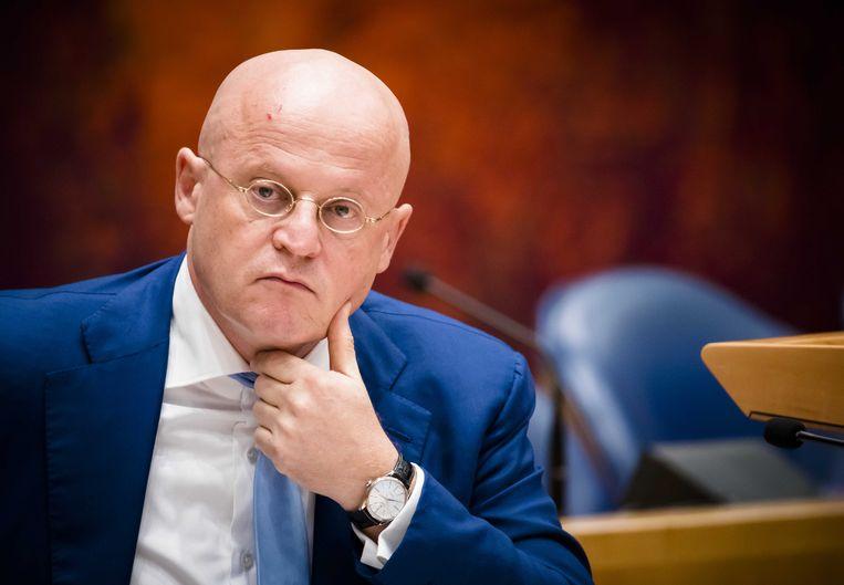 Minister Ferdinand Grapperhaus van Justitie en Veiligheid Beeld ANP