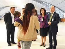 Zimbabwaanse familie na drie maanden eindelijk weg van Thais vliegveld
