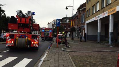 Brand in appartementsgebouw in Zaventem