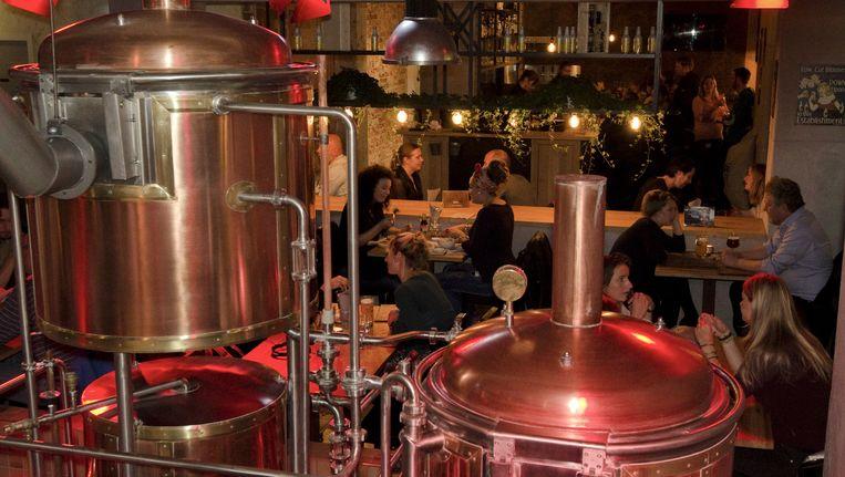 De Bierfabriek gaat uitbreiden in het nieuwe pand Beeld Bierfabriek