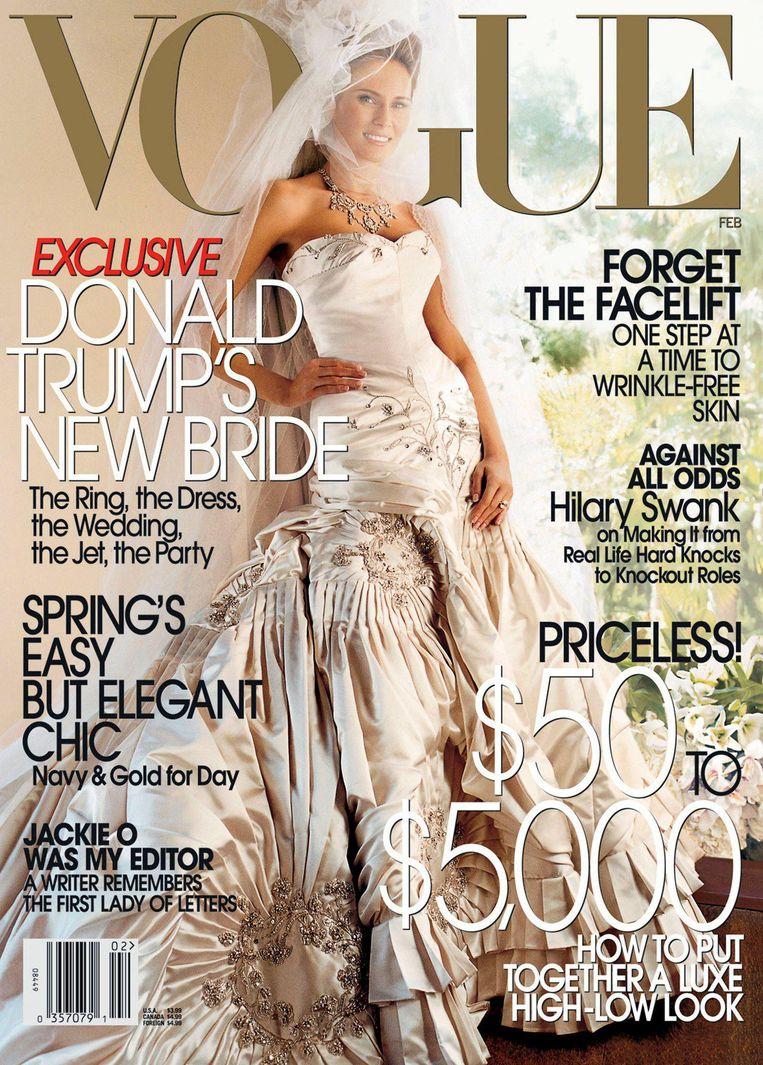 De Vogue-cover uit 2005. Beeld