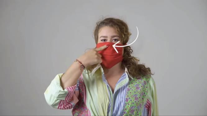 Met deze handleiding maak je alvast je mondmasker voor wanneer de lockdown wordt versoepeld