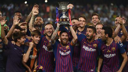 Barcelona begint seizoen met een prijs en pakt in Marokko 13de Supercopa
