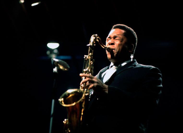 'Ik hou van de oude periode, de jazz van eind jaren vijftig, begin jaren zestig. Er moet melodie in zitten.' Beeld Jan Persson / HH