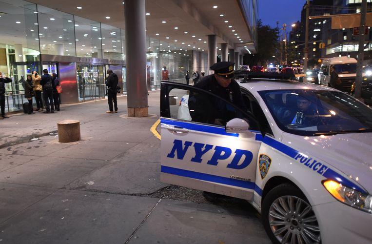 Politie in New York Beeld afp