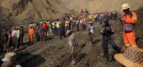 Tientallen vermisten na aardverschuiving mijn Myanmar