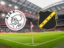 Ajax ontvangt NAC na midweekse kraker tegen Real Madrid