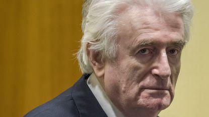 Bosnisch-Servische ex-leider Karadzic krijgt levenslang voor volkerenmoord