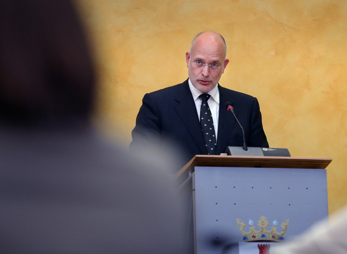 Frank Rozenberg tijdens een debat in 2015.