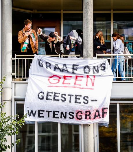 Schade na bezetting universiteitsgebouw UvA door studenten: 89.000 euro