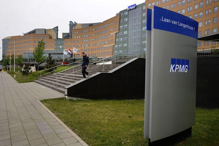 Het omstreden nieuwe kantoor van KPMG in Amstelveen. Beeld ANP