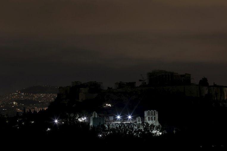 De Acropolis in Athene Beeld reuters