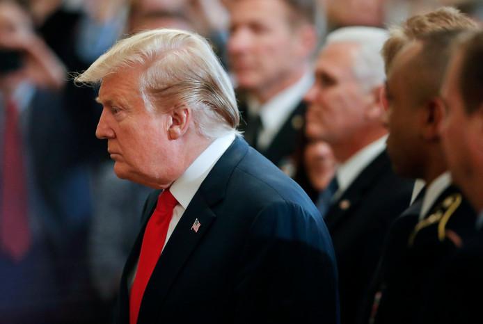 """President Donald Trump: ,,Total bullshit."""""""