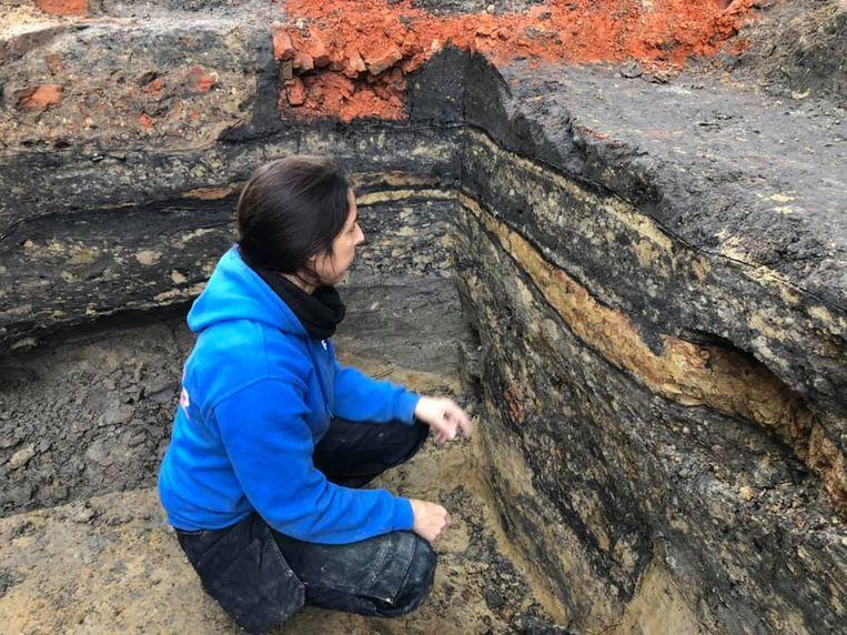 In de grondlagen onder café The Philo werden sporen uit de vroege en late middeleeuwen gevonden.