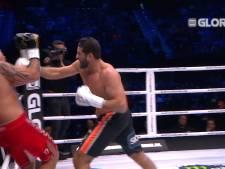 Ben Saddik velt met 'één hand' tegenstander en wint Glory