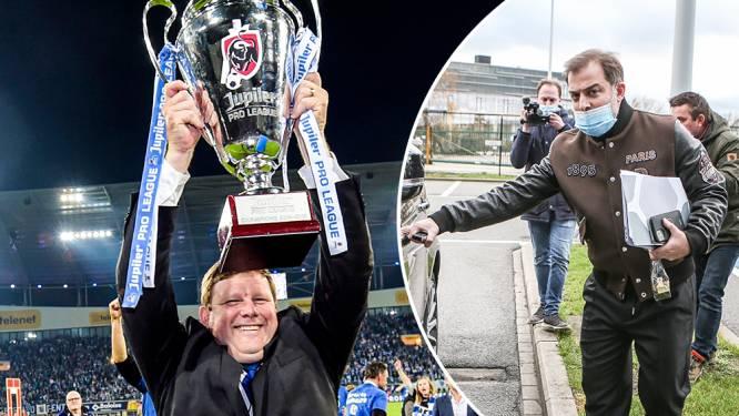 De grote comeback: Hein Vanhaezebrouck is de nieuwe trainer van AA Gent en tekent tot 2022