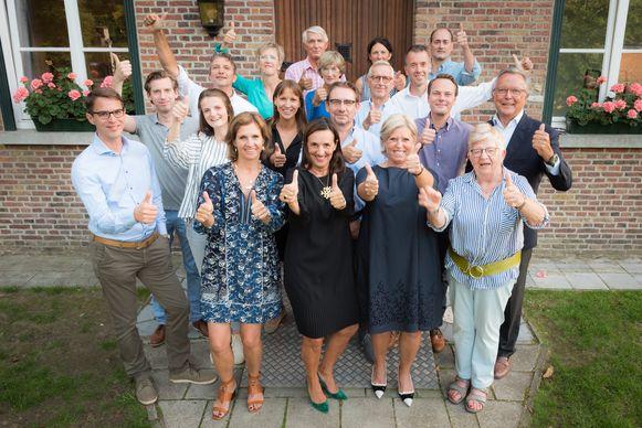 De kandidaten van Welzijn.