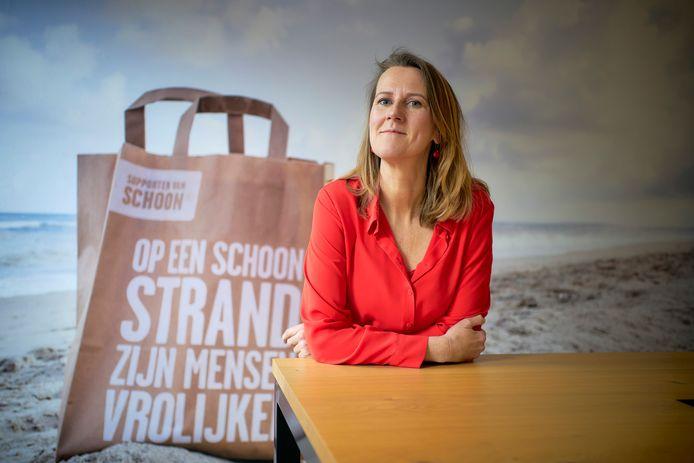 Directeur Helene van Zutphen van Nederland Schoon.
