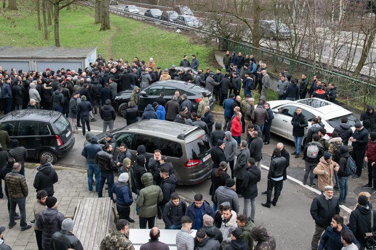 De gebedswake lokte honderden sympathisanten.