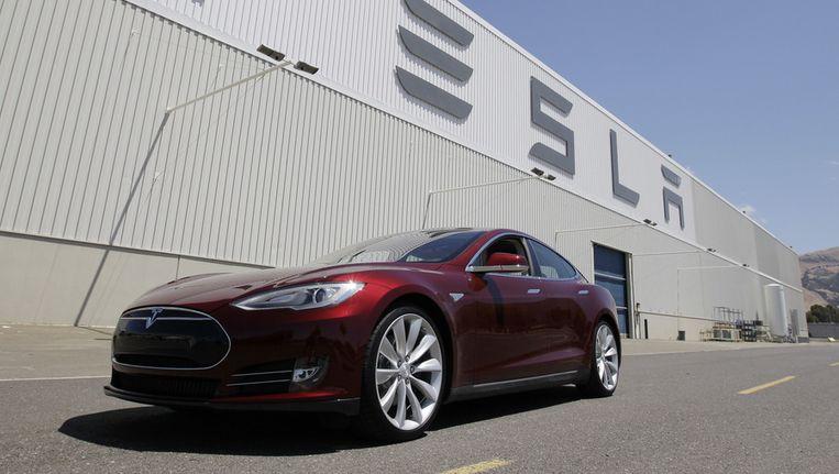 Tesla Motors in Fremont, Californië. Beeld ap